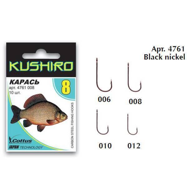 Таблица размеров крючков для рыбалки