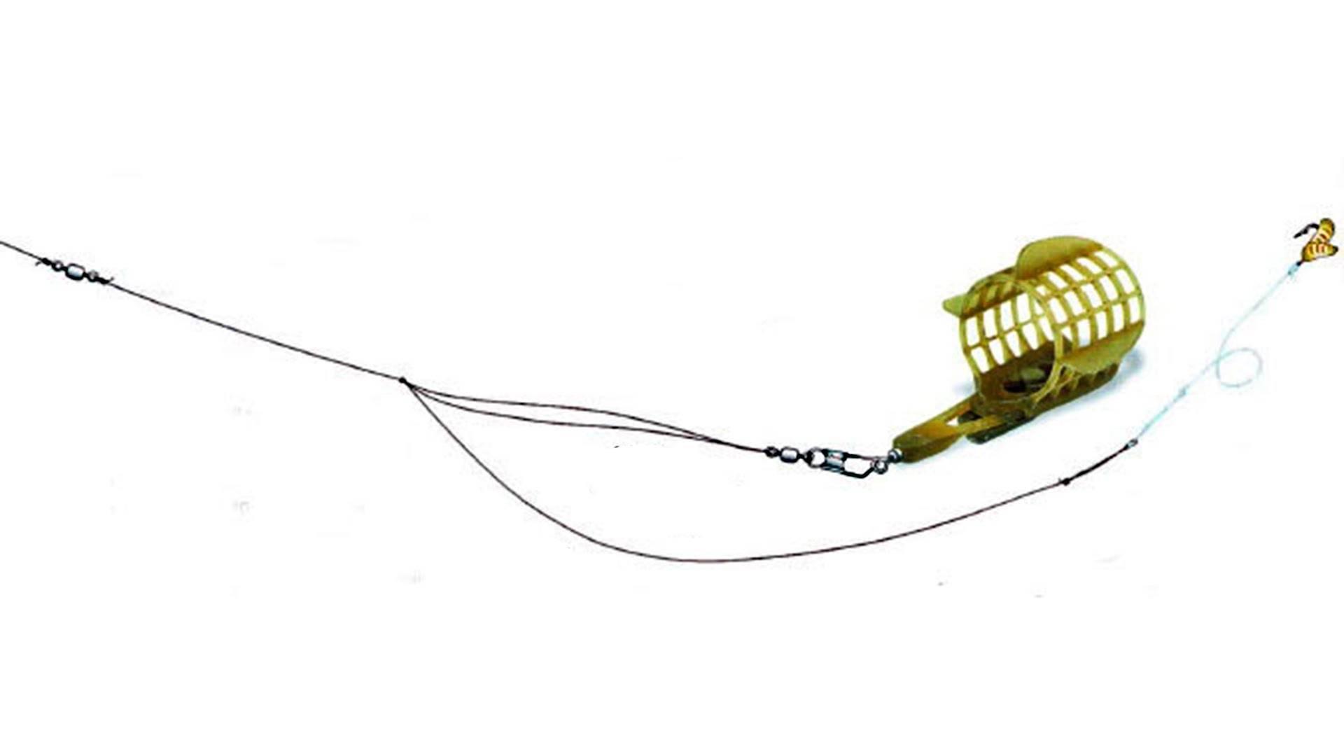 Фидерная оснастка на леща - снасть и особенности монтажа