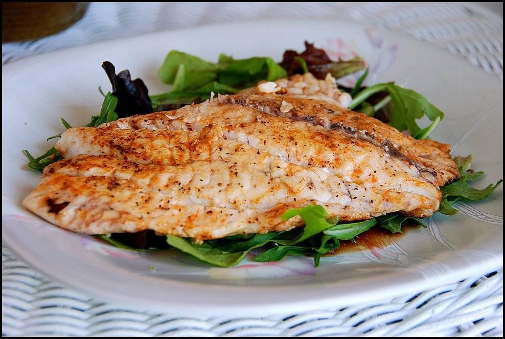Запечь рыбу в духовке лобань