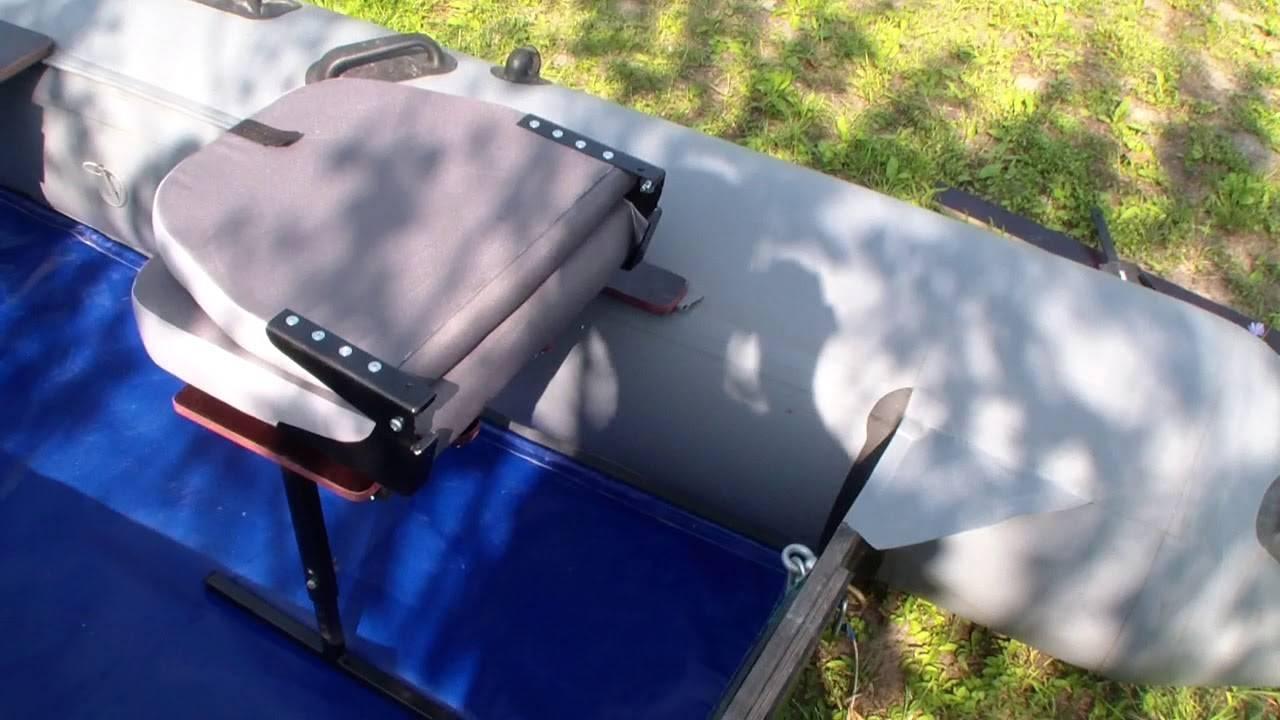 Этапы изготовления своими руками кресла в лодку пвх, нюансы монтажа