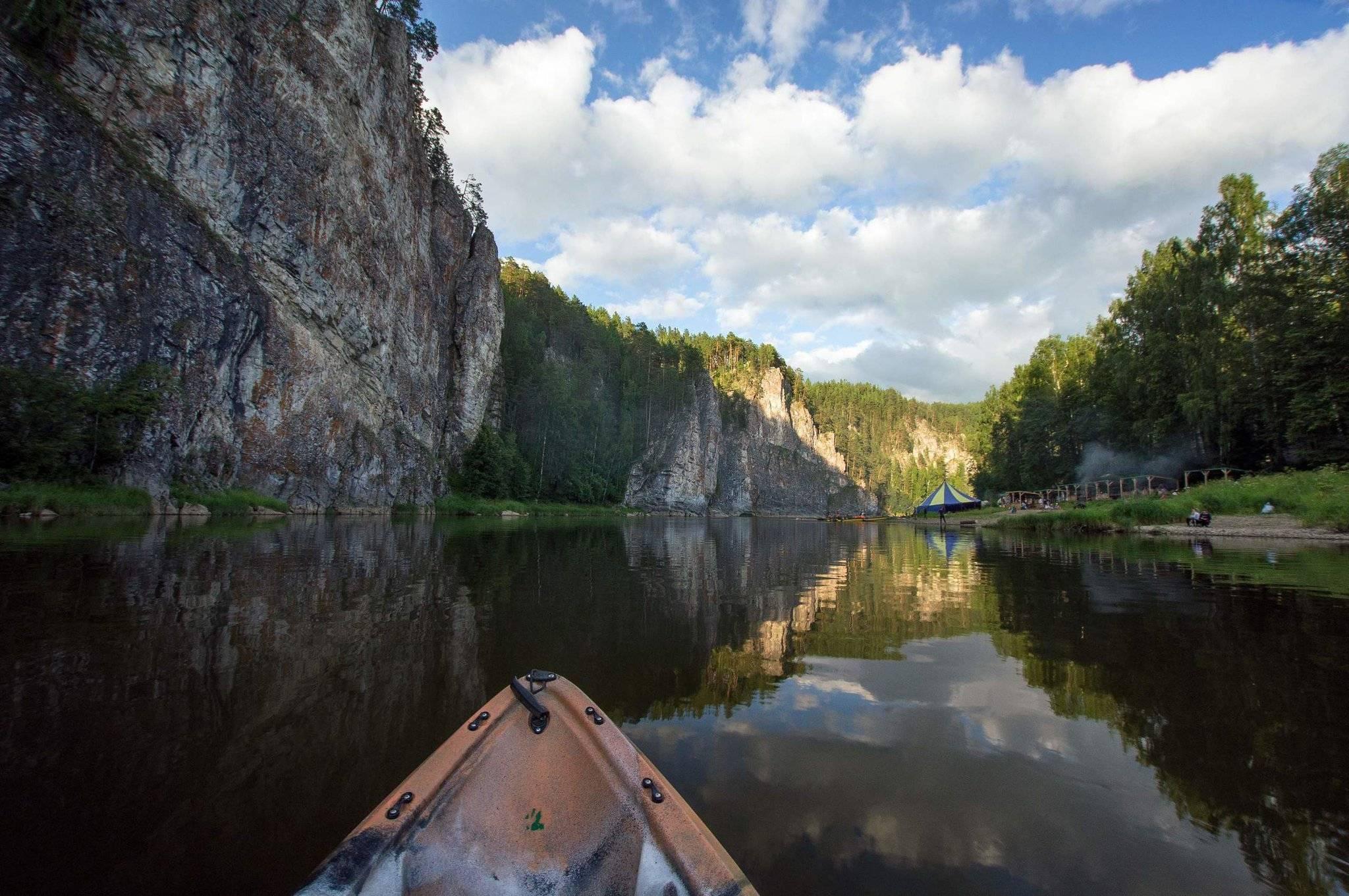Река реж. путеводитель по маршруту сплава
