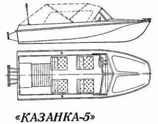 Лодки «казанка»