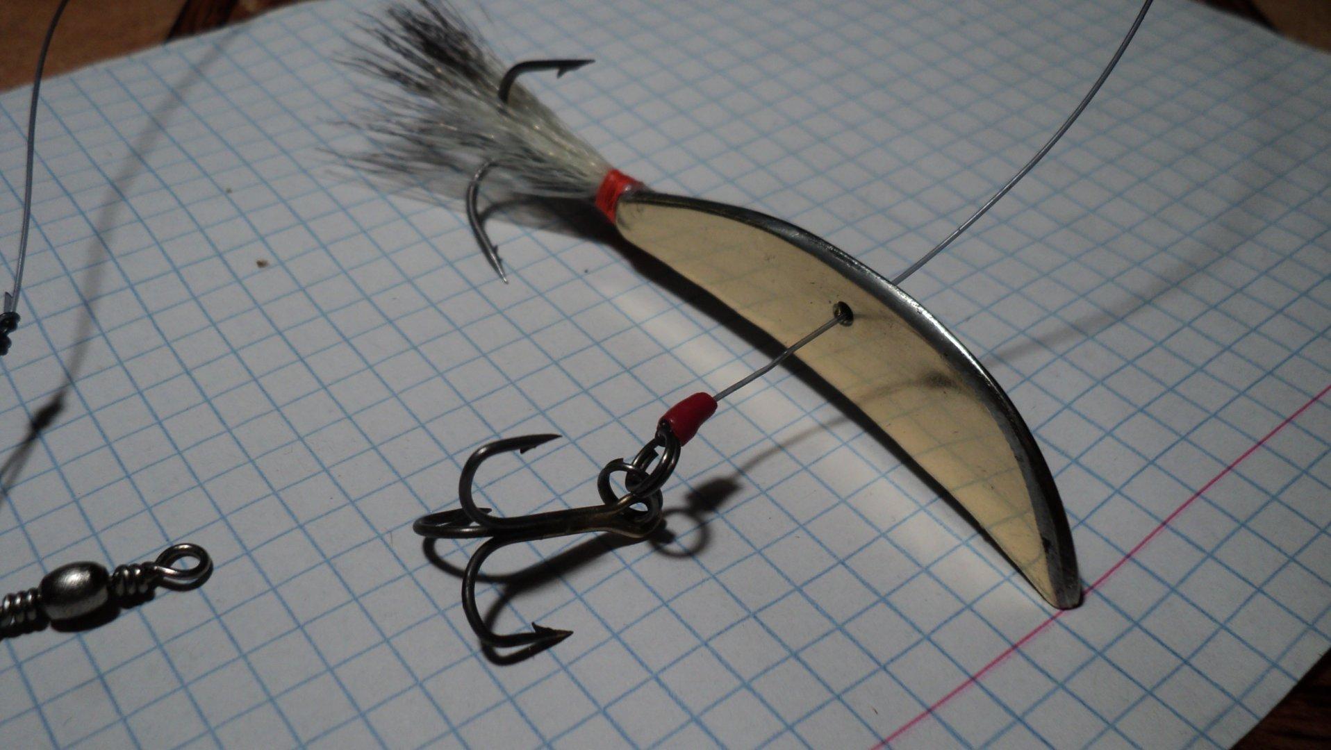 Изготовление блесны бокоплав для зимней рыбалки