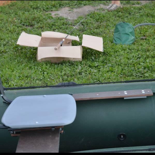 Как выбрать надувное кресло в лодку пвх