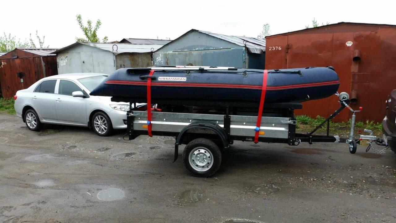 Переделка прицепа для перевозки лодки из пвх, руководство по адаптации | berlogakarelia.ru