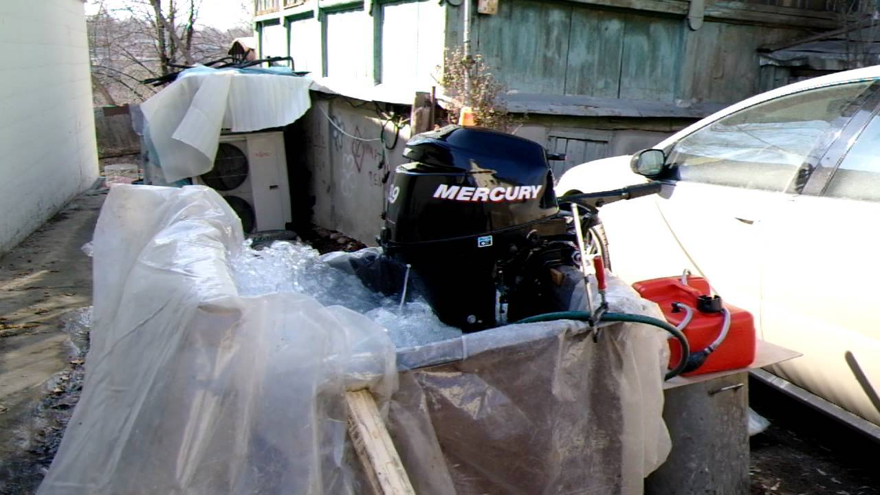 Консервация лодочного мотора на зиму своими руками