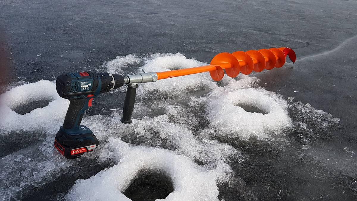 Ручные ледобуры для зимней рыбалки: советы по выбору и отзывы