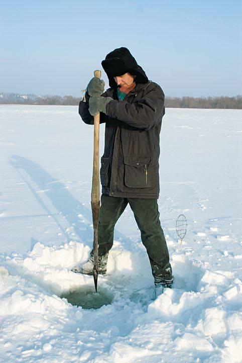 Пешня для зимней рыбалки своими руками - чертежи и инструкция по изготовлению