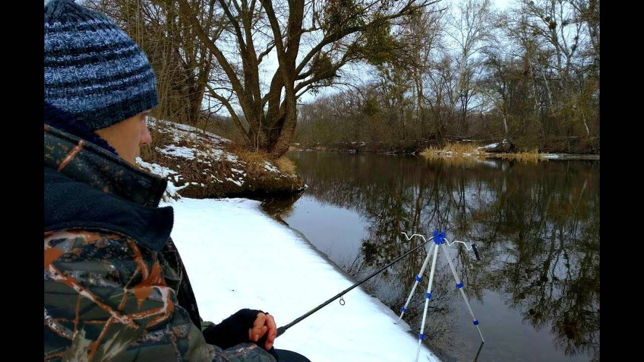Зимний фидер со льда: оснастка для фидера и техника ловли