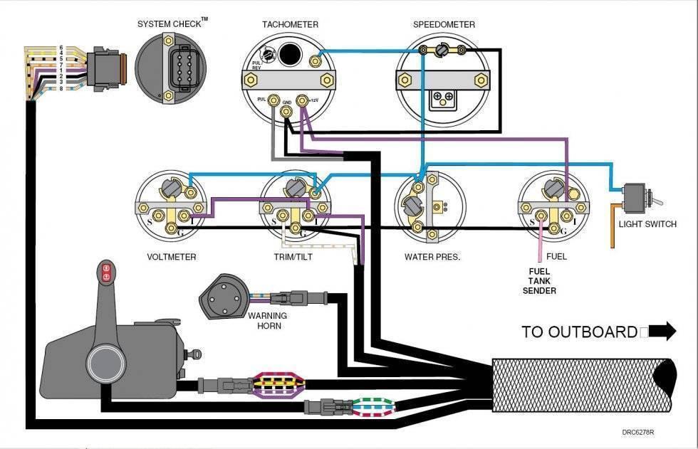 Тахометр на катер — установка, подключение и количество полюсов