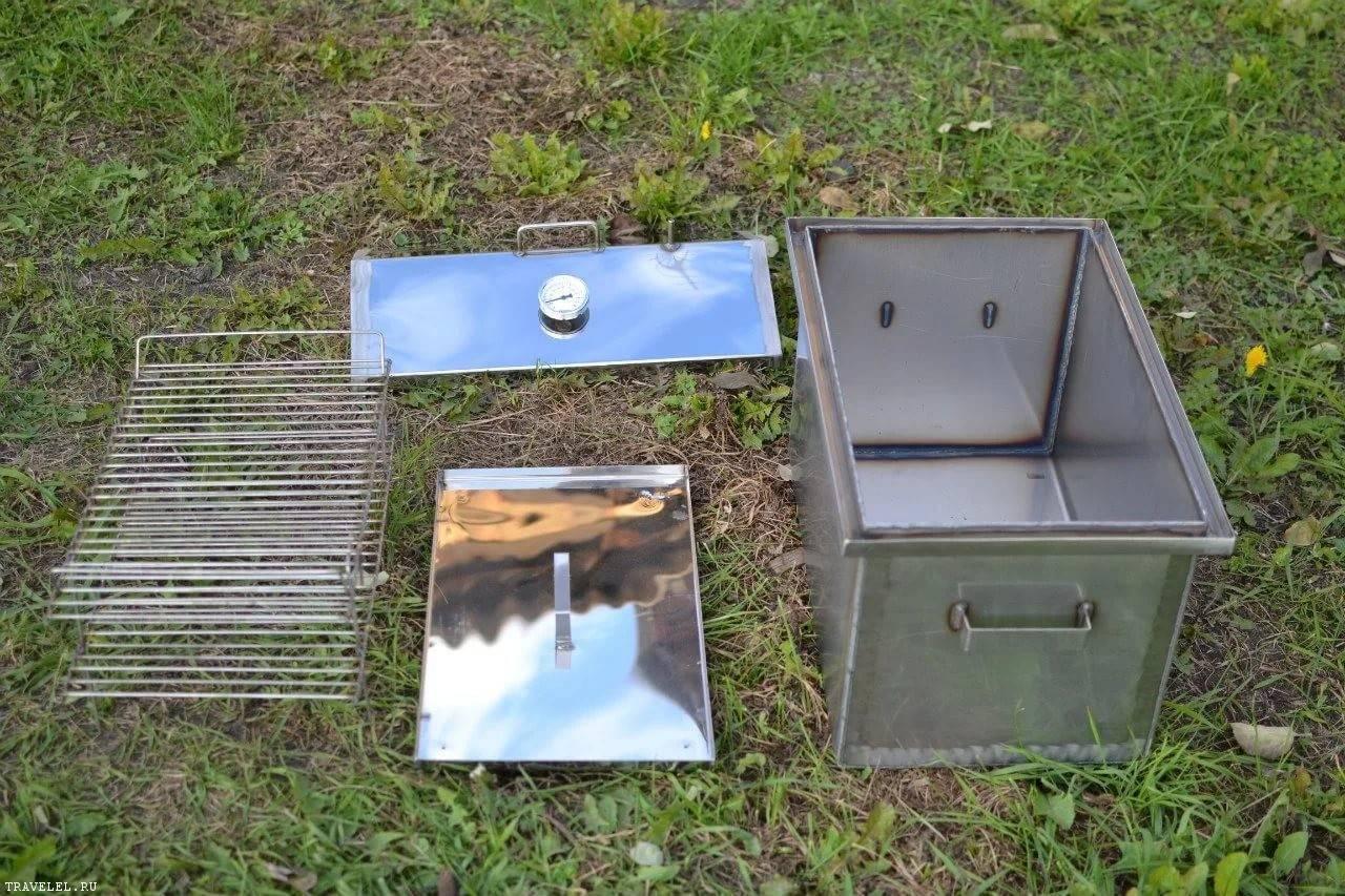 Коптильня холодного копчения своими руками: назначение и этапы сооружения + 56 фото