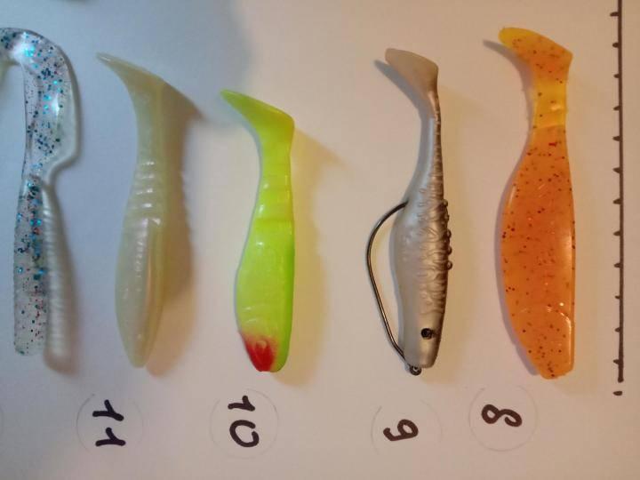 Ловля окуня на резину от лаки джона и фанатика уловистыми методами