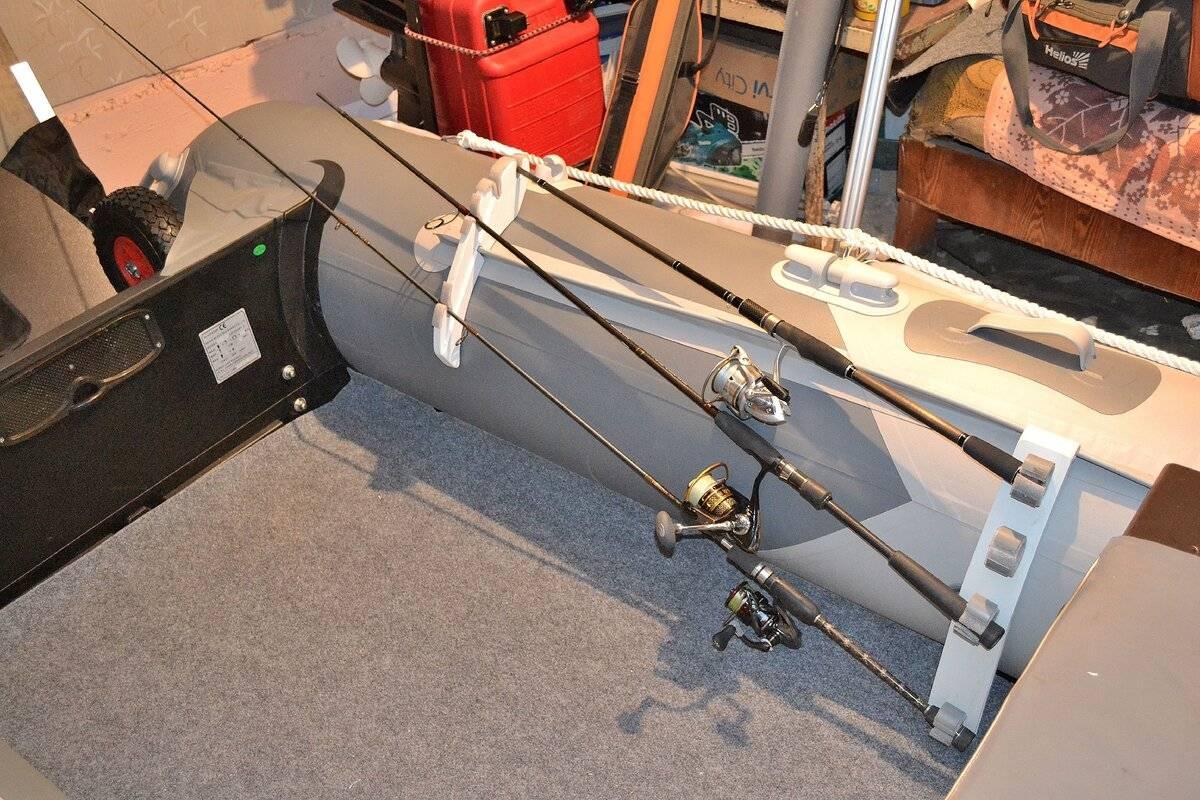 6 шагов для изготовления креплений, держателей для спиннинга на лодку пвх и катер своими руками
