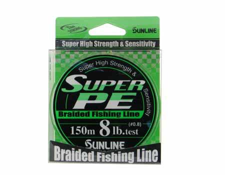 Sunline super pe - плетеный шнур для всех видов ловли