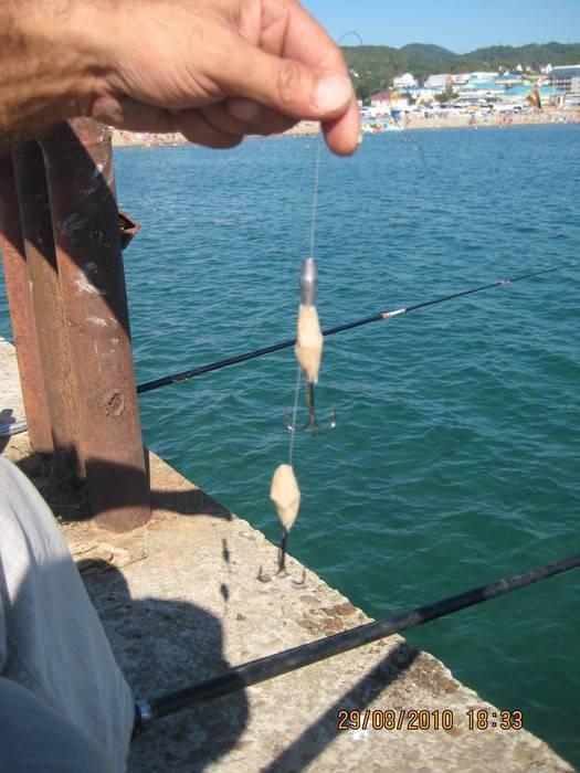 Ловля кефали в черном море снасть