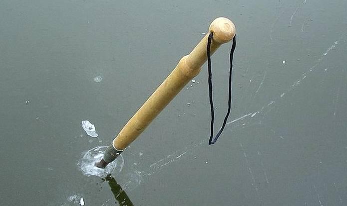 Пешня для зимней рыбалки своими руками — чертежи и инструкция по изготовлению