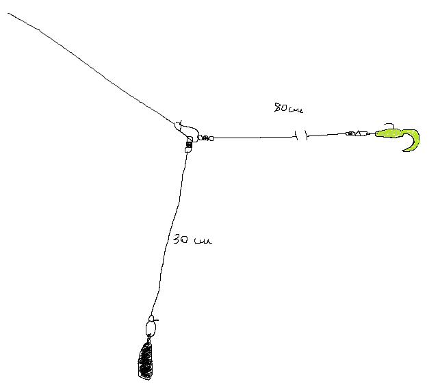 Отводной поводок: монтаж, ловля судака, щуки и окуня