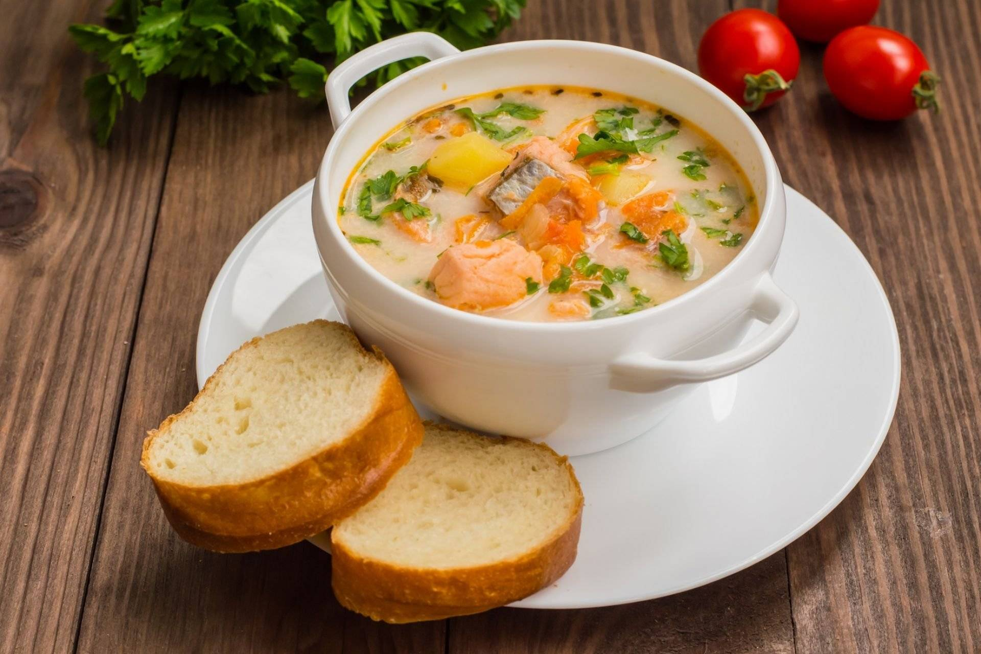 Уха из лосося: рецепт с фото пошагово, финский сливочный суп