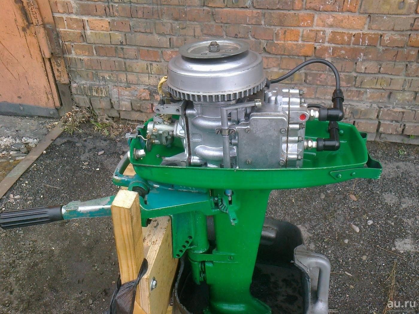 Лодочный мотор ветерок 8: обзор и фото