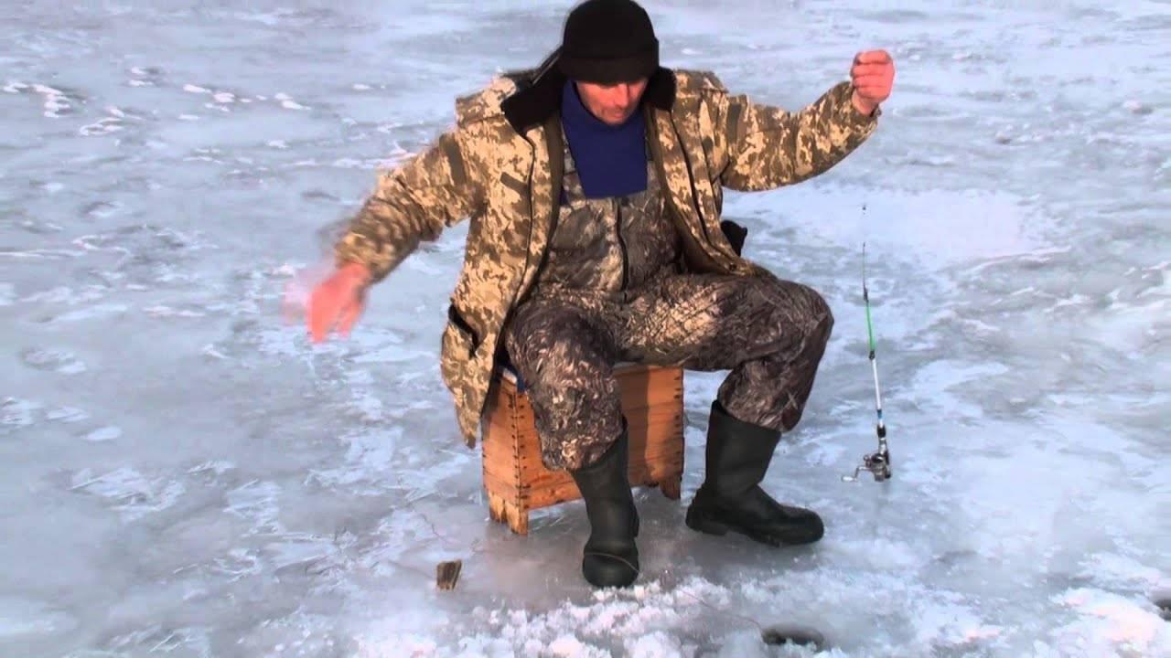 Ловля карпа по первому льду