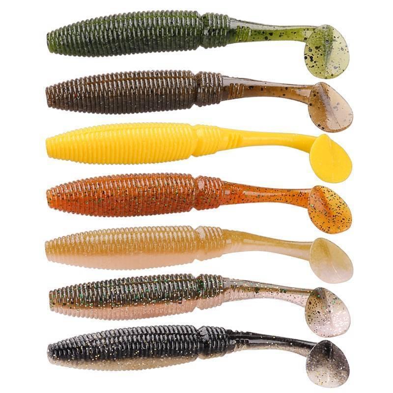 Ловля окуня на силикон: виды, размеры и цвета приманок в нашем рейтинге