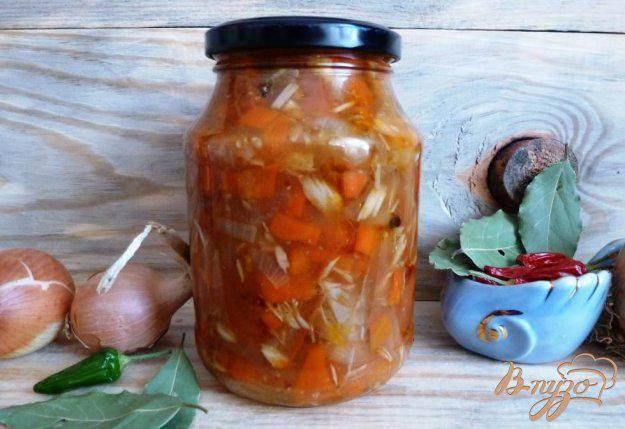 Салат из скумбрии на зиму - необычные консерванты: рецепт с фото и видео