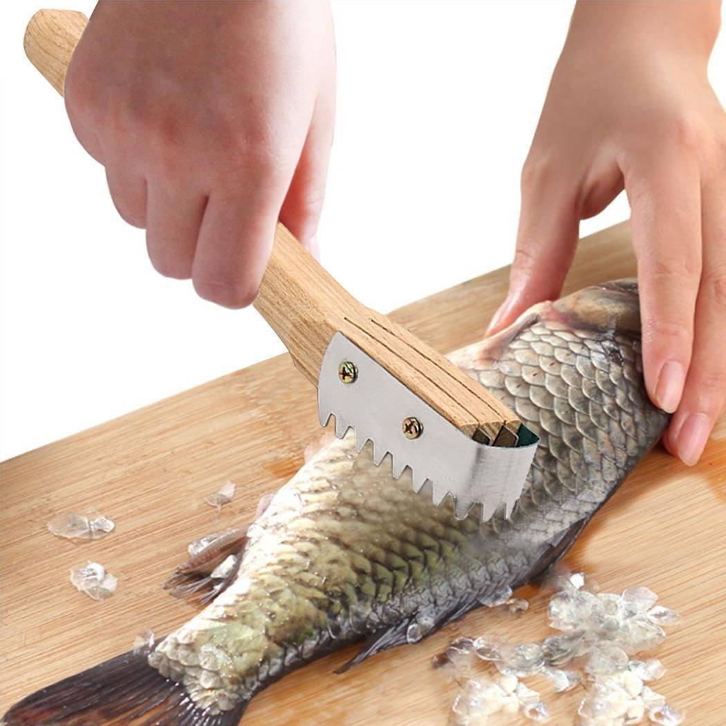 Чистилка для рыбы: как сделать приспособление для чистки чешуи своими руками? особенности электрического прибора, зажима и машинки