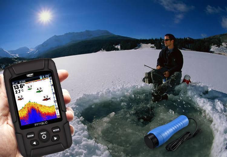Эхолот для зимней рыбалки через лед - лучшие модели и цена