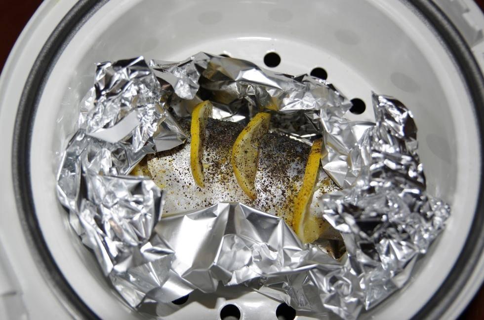 Рыба запеченная в мультиварке / блюда из карпа / tvcook: пошаговые рецепты с фото