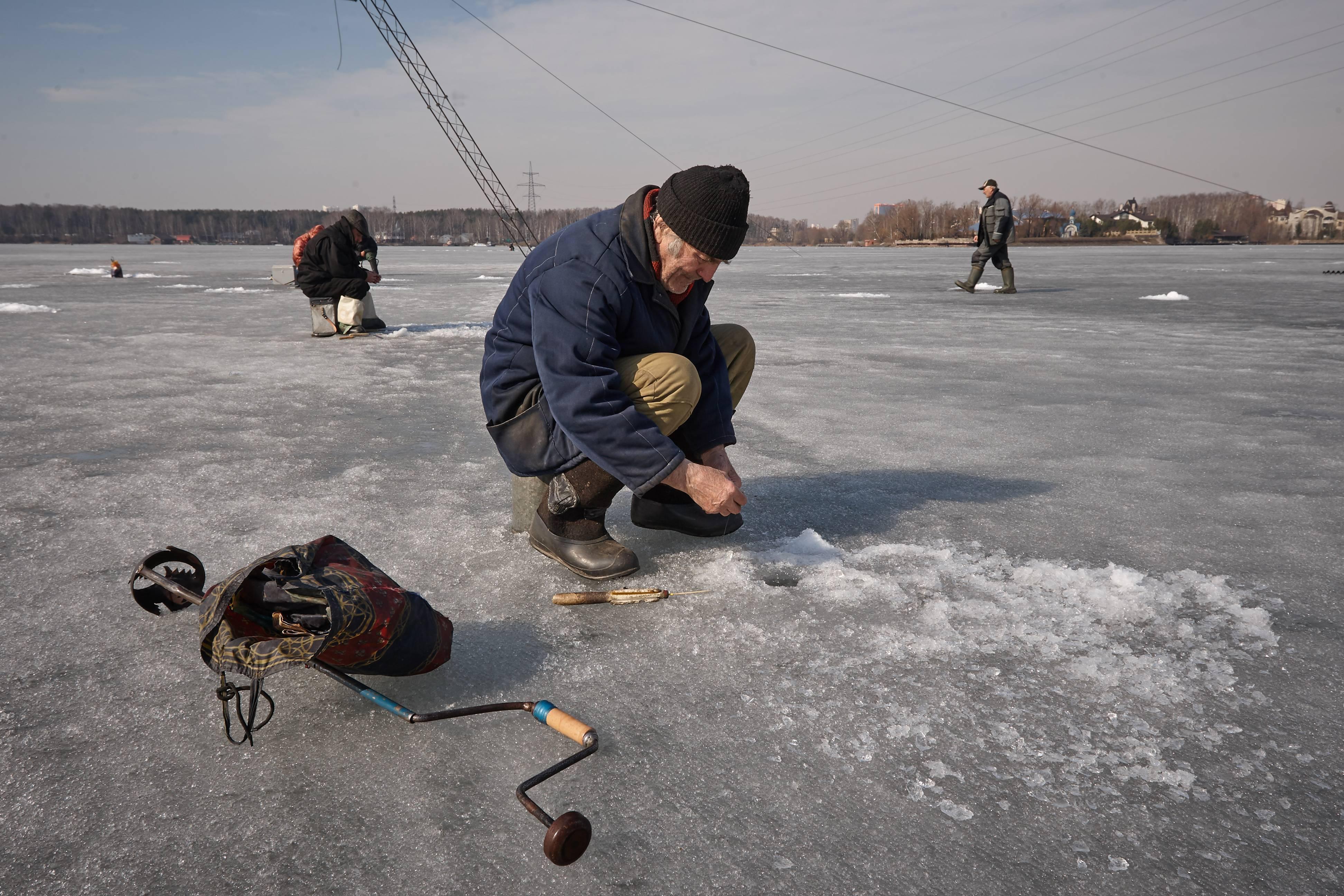Увлекательная ловля рыбы на реке бердь