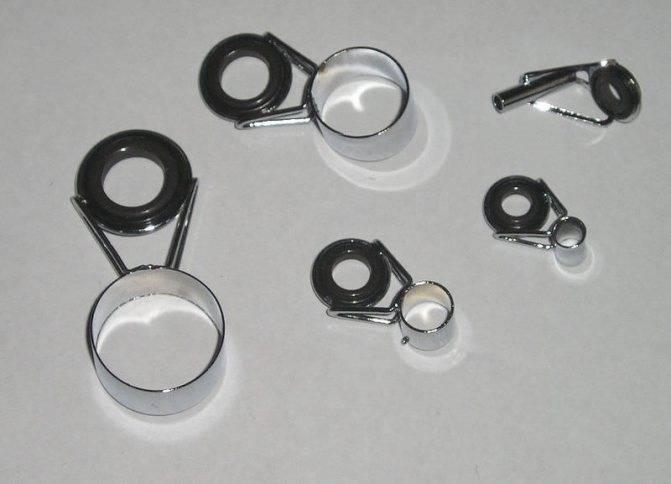 Кольца для спиннинга пропускные - замена и расстановка колец