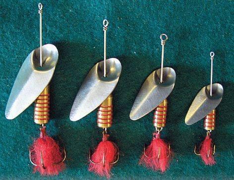 Как сделать вертушку-блесну для рыбалки своими руками