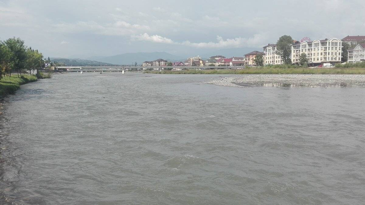 Мзымта — самая интересная горная река краснодарского края