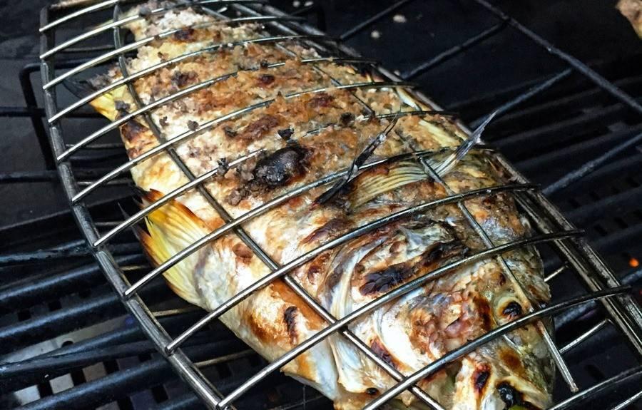 Щука на мангале: рецепты блюд с различными ингредиентами и правила готовки