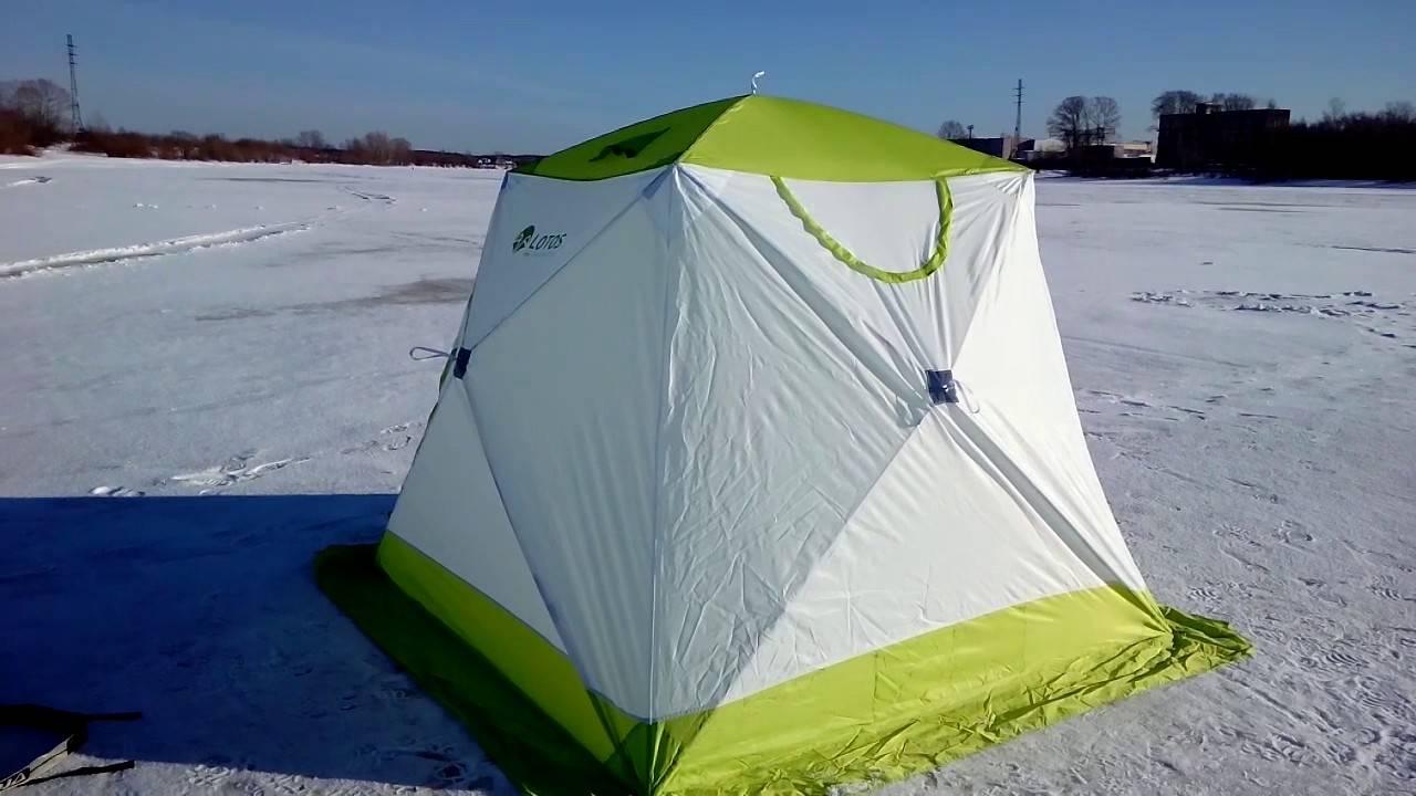 7 лучших зимных палаток для рыбалки – рейтинг 2020 года
