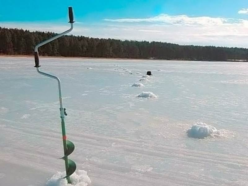 Правильное бурение лунок. чем и как делать лунки на зимней рыбалке!?