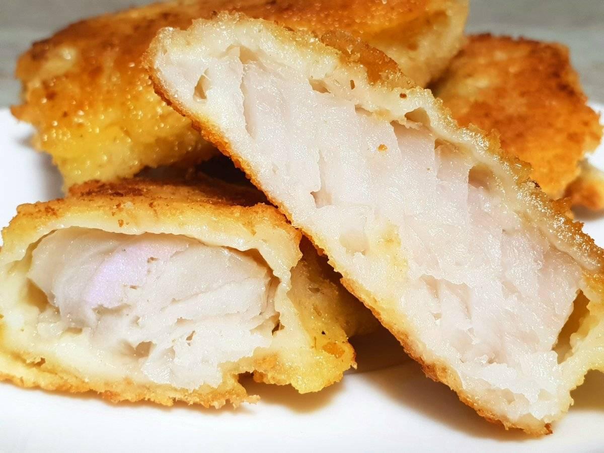 Филе минтая в кляре на сковороде рецепт с фото пошагово - 1000.menu