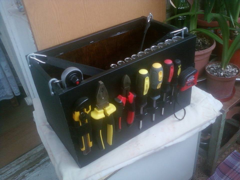 Ящик для инструментов своими руками - схемы, чертежи, фото
