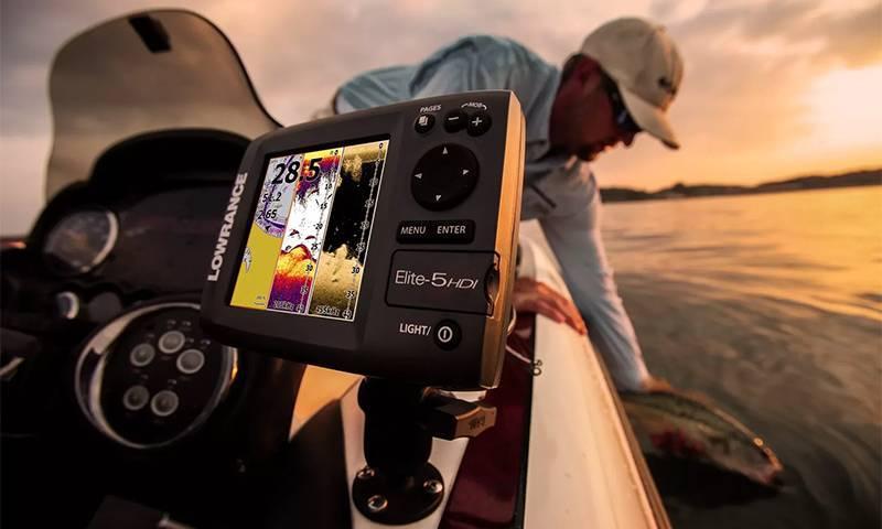 Эхолот для рыбалки принцип работы-луч,датчик,экран,изображение,режимы