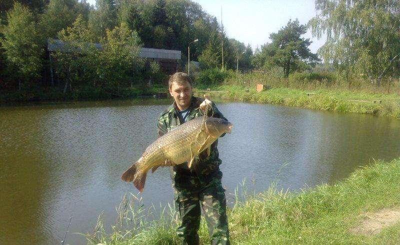 Рыбалка на озере Бисерово