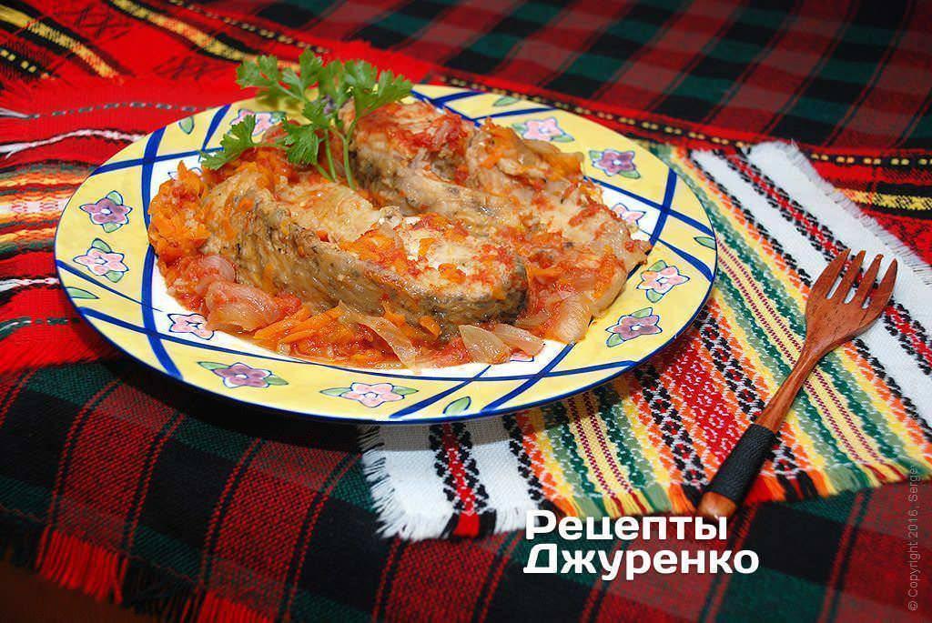 Как приготовить рыбу под маринадом из моркови и лука— рецепты тушеной, жареной, в духовке, в мультиварке