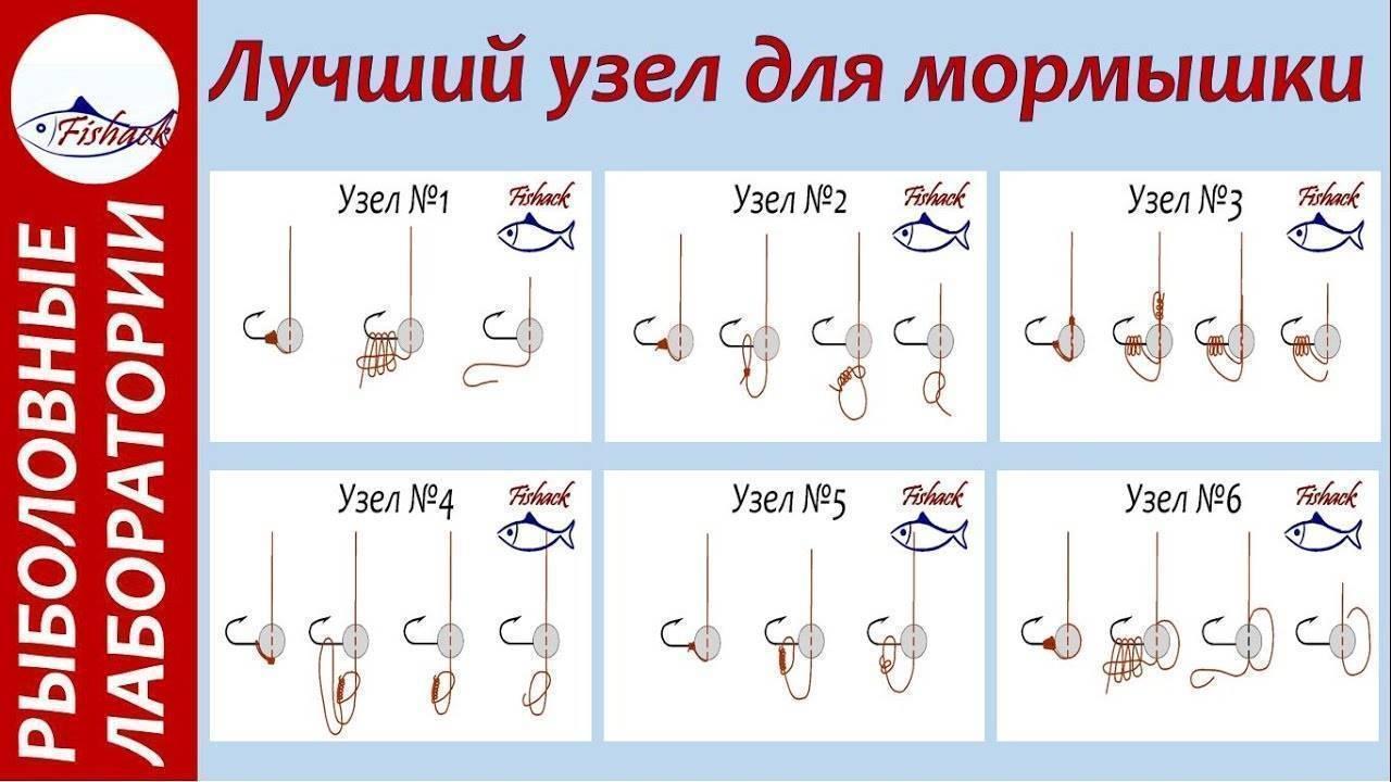 Как привязать мормышку с ушком - лучшие узлы, способы, иллюстрации и советы