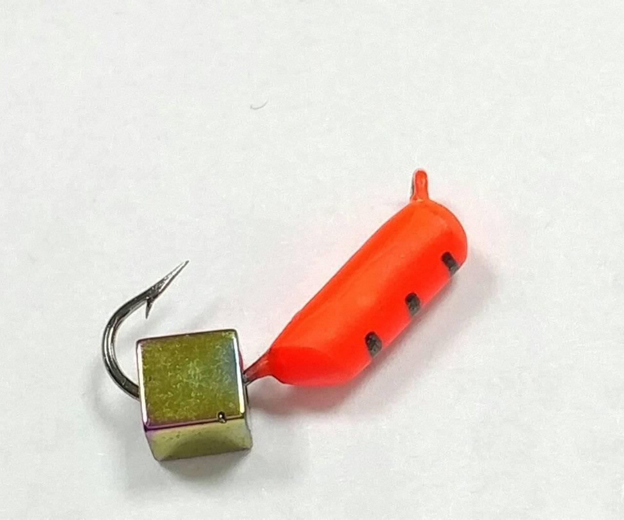 Мормышка гвоздекубик: где и для чего использовать, что можно поймать, как сделать своими руками