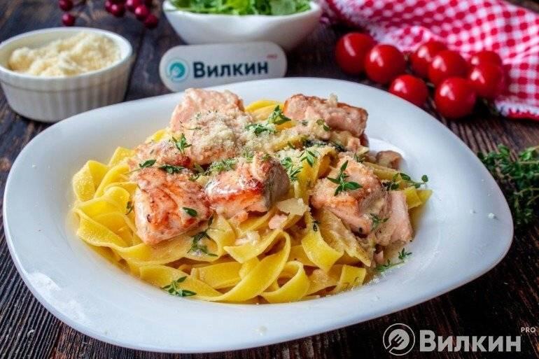 Фетучини лососем: классический рецепт приготовления итальянской пасты