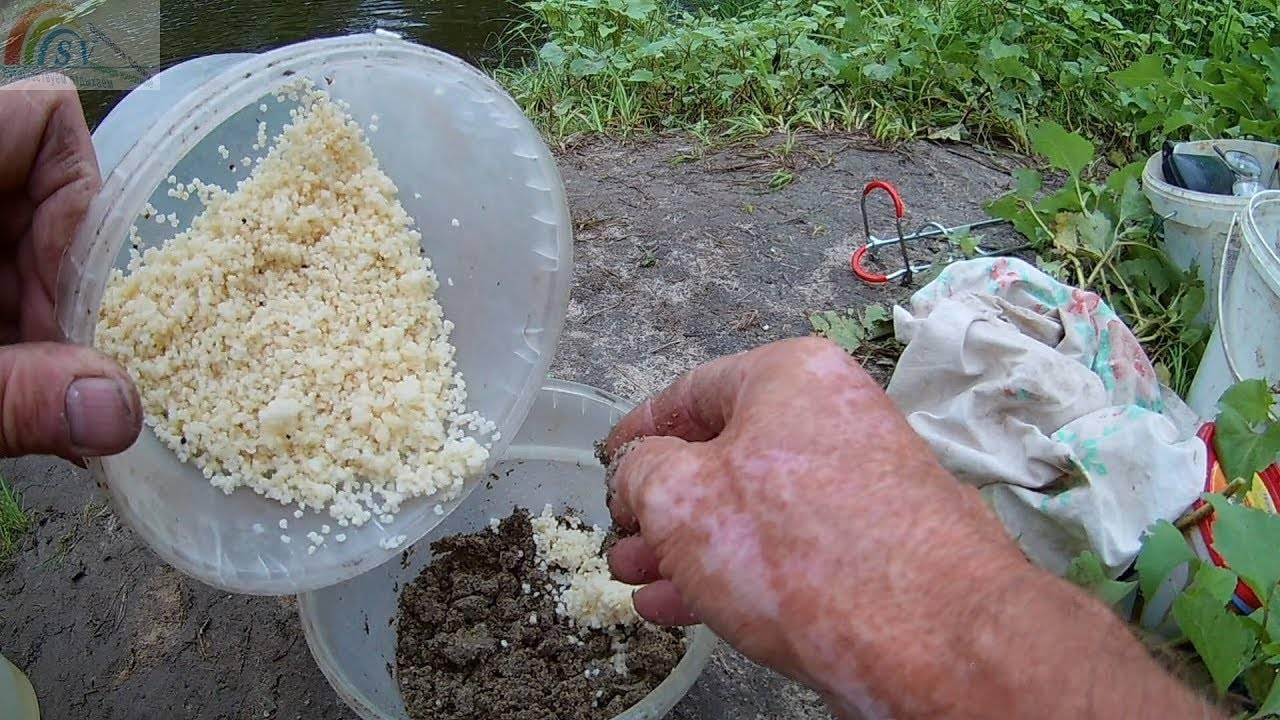 Как варить перловку для рыбалки на карася