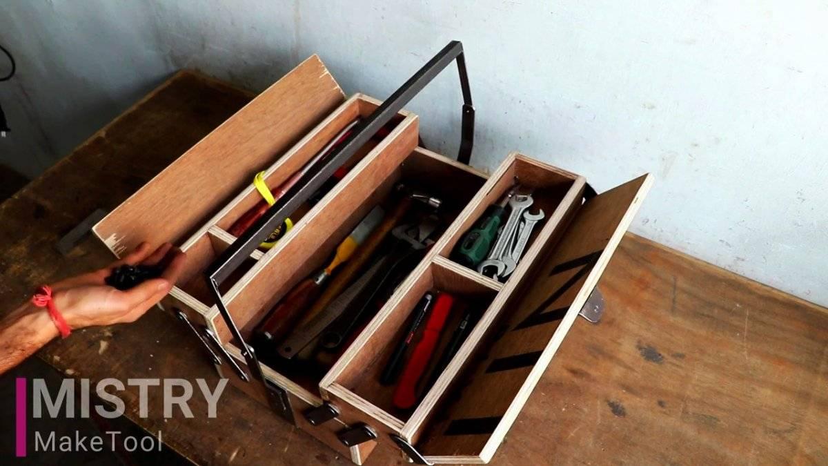 Сообщества › Сделай Сам › Блог › Ящик для инструмента из алюминия.