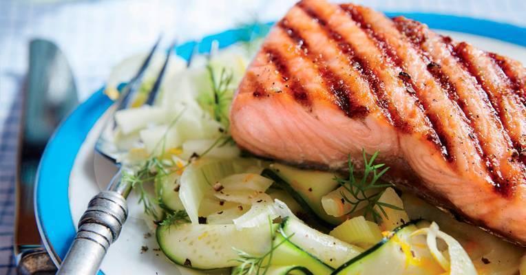 Стейк из лосося на гриле и в духовке – 5 рецептов