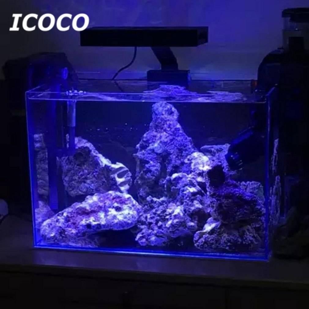 Освещение аквариума своими руками: мощность ламп, их тип