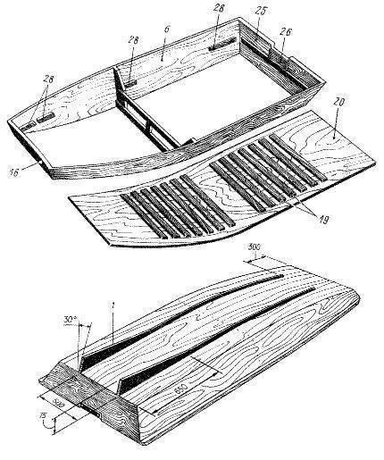 Деревянная лодка своими руками: материалы и пошаговая инструкция с фото - truehunter.ru