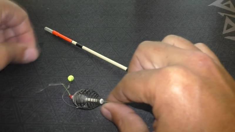 Оснастка донной удочки кормушкой: устройство снасти, техника ловли фидером